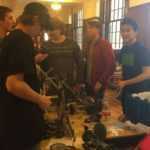 UTC robotics teams prepare for the recently held Vex competition at John Bapst