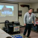 Dan Desmaris of Lincoln Tech discusses tech programs and opportunitities with students.